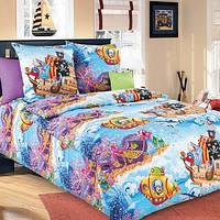 Ткань для детского постельного белья,бязь Пираты