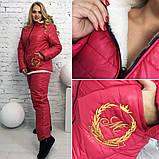 Зимний лыжный женский костюм про-во Украина, 3 цвета, разм 50-52, 54-56, 42-44,46-48, фото 3