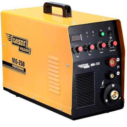 Зварювальний напівавтомат Kaiser MIG-250 (Інверторний), фото 2