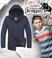 Подростковая куртка зимняя на мальчика