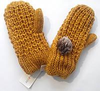 Варежки рукавицы рукавички теплые детские С&A Германия зима весна рост 134 -140