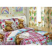 Ткань для детского постельного белья,поплин Сладкий сон