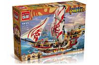 Конструктор детский Brick Пиратский корабль 1311