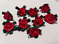 Розы,  холодный фарфор, для рукоделия