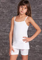 Майка для девочки белая 11-12 лет, Berrak