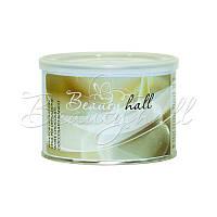 Воск для депиляции в банке белый шоколад (Италия) Beautyhall White Chocolate 400 мл