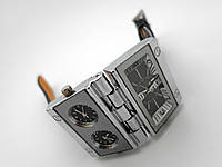 Мужские часы в стиле Дизель - Double