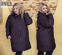 Пальто супер батальное, размеры 58-66 код 1106Г