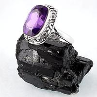 Александрит двухцветный, серебро 925, кольцо, 210КА