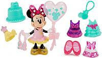 Набор с Минни Маус и одеждой День Рожденье, Disney Minnie Mouse Birthday Gala Minnie Doll