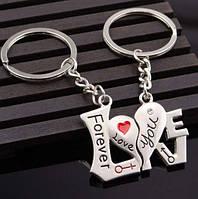 Два брелка для влюблённых - Надпись LOVE разделенная на два брелка SKU0000574