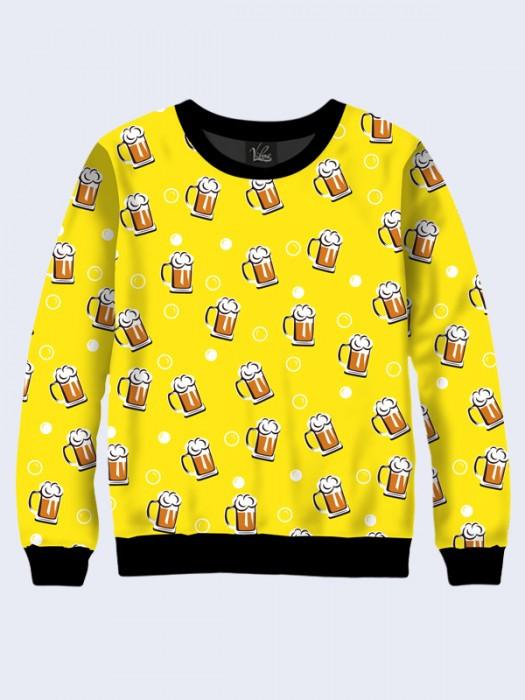 Свитшот Кружки с Пивом