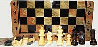 Шахматы, шашки, нарды, 3 в 1, дерево