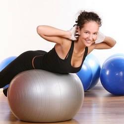 Фитболы (мячи для фитнеса), балансировочные полусферы BOSU