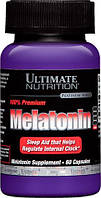 Melatonin 3 mg Ultimate Nutrition, 60 капсул