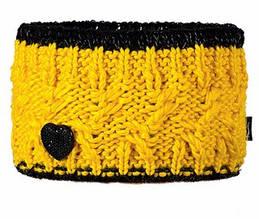 Модная вязанная повязка для девочек от Loman Польша Желтый, 53-55