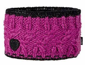 Модная вязанная повязка для девочек от Loman Польша Розовый, 53-55