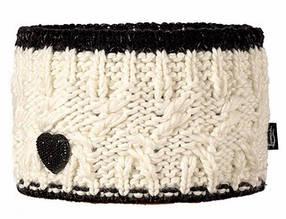 Модная вязанная повязка для девочек от Loman Польша Белый, 53-55