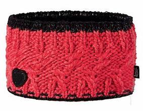Модная вязанная повязка для девочек от Loman Польша Красный, 53-55