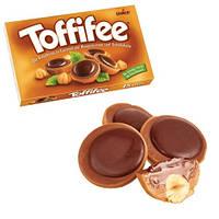 Конфеты Toffifee фудук в карамели с кремовой нугой и шоколадом Германия 125г