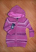 Кофта ( кардиган ) теплая детская для девочки Турция