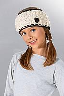 Модная вязанная повязка для девочек от Loman Польша