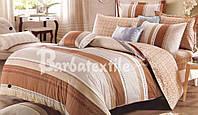 """Комплект постельного белья из ранфорса ТМ """"Ловец снов"""", Сахара"""
