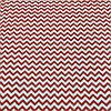 Тканина з червоним міні-зигзагом, ширина 160 см
