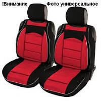 Майки сидения передние PILOT В красно- черные закрытые с подголовником