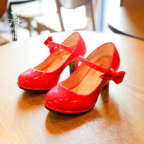 0ad444d0 Детские туфли на каблуке для девочки : продажа, цена в Кременчуге ...