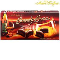 Шоколадные конфеты пралине с бренди  Brandy Beans Maitre Truffout Австрия 190г