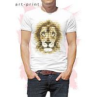 Футболка Lion Mosaic мужская, фото 1