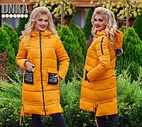 Пальто зимнее, размеры 42-54 код 1154Г