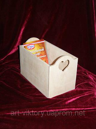 Короб для специй с сердечком (21 х 12 х 14 см), фото 2