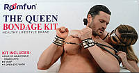 Наручники маска кнут The Queen Bondage Kit