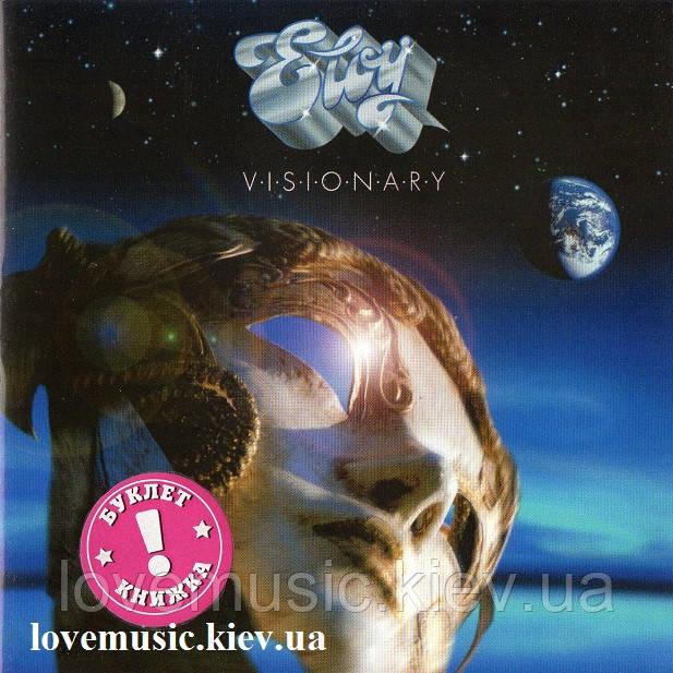 Музичний сд диск ELOY Visionary (2009) (audio cd)