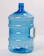 Бутыль 18,9 л пластиковый ПЭТ с интегрированной ручкой
