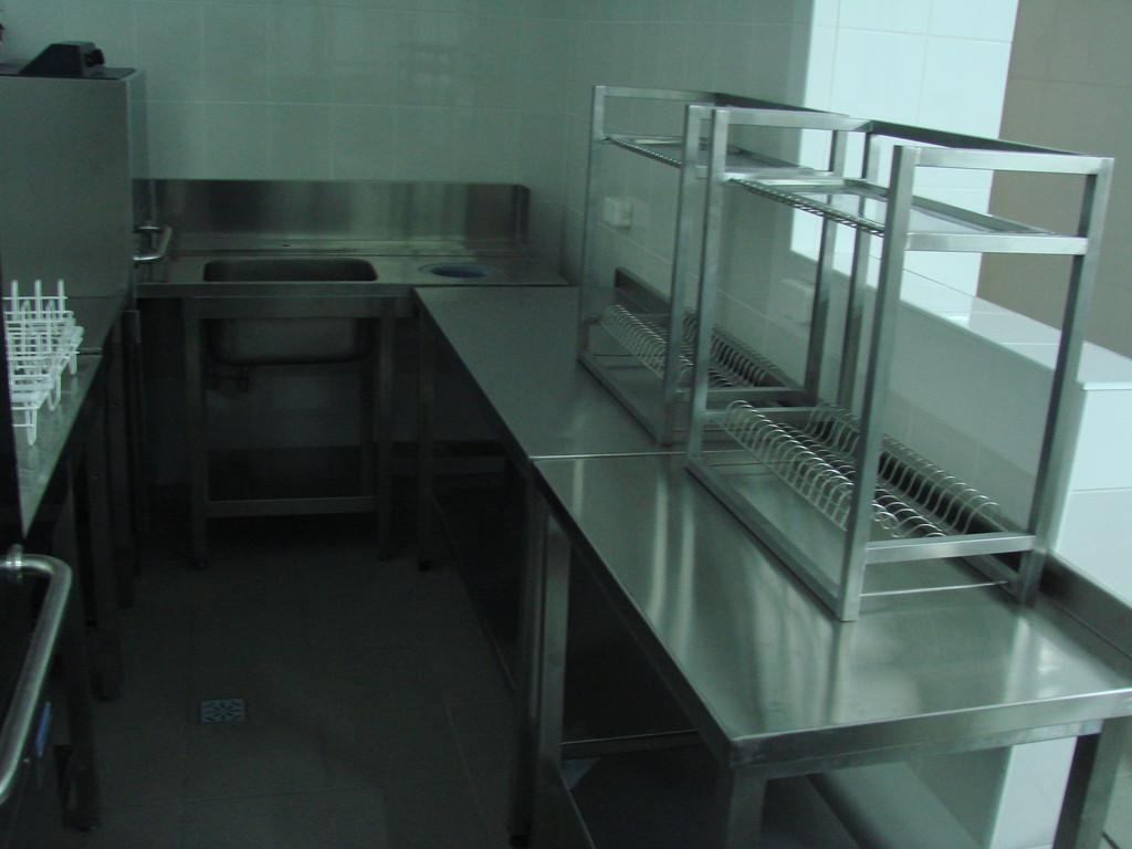 столы производственные из нержавеющей стали 3