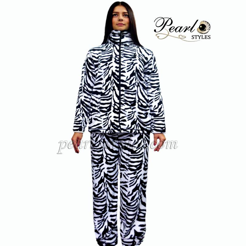 Теплый женский костюм для дома