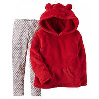 Комплект для девочки - худи с капюшоном и леггинсы 9М (67-72 см)