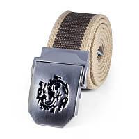 Тактический мужской ремень для брюк NORSSOV Dragon коричневый
