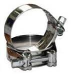 Хомуты усиленные с шарнирным винтом W2 (нержавеющая сталь)