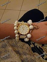 Женские часы Geneva белого цвета., фото 3