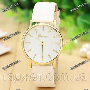 Женские часы Geneva белого цвета., фото 2