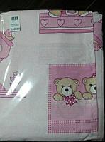 Комплект детского постельного белья, бязь, 3 предм.