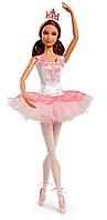 Коллекционная кукла Barbie Прима-балерина брюнетка (DGW35), Mattel США