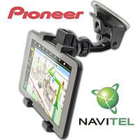 Навигатор для грузовиков GPS 3 в 1 Pioneer IPS 1 + 8 GB c Navitel Android 5.1 Wi-Fi 3G две сим Автокомплект