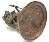 Старая бронзовая скульптура, преторианец, римский воин, бронза 42 см, фото 10