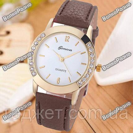 Женские часы Geneva Relojes Mujer коричневого цвета., фото 2