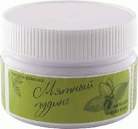 Маска для жирных волос Мятный пудинг Арго (жирность волос, придает объем, для укладки, мята, каолин, витамины)